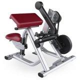 版は二頭筋のカール機械/Crossfitの体操装置をロードした