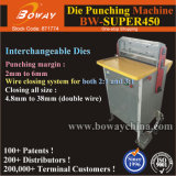 Para Servicio Pesado eléctrico morir agujero Perforadora de Doble Lazo vinculante portátil el cable de la máquina