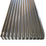 Dx51D Médio a quente de aço corrugado galvanizado Tecto