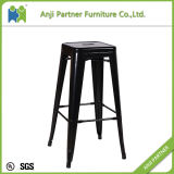 Unique Design Strongly Chair 4 Legs Metal Bar Stool (Fengshen)