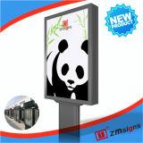 Zm-107 aanplakbord die Mega Lichte Doos adverteren/de Lichte Fabrikant van de Doos adverteren