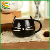 Single-Layer 400мл приятный керамические Cute Cat дизайн кружки кофе