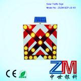 Signal d'alarme solaire de circulation/signe de route de clignotement pour la sûreté de chaussée