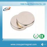 De mini Magneet van het Neodymium van de Vorm van de Cilinder van het Nikkel van de Schijf voor Verkoop