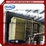 Strenge Qualitätskontrolle-Basalt-Felsen-Wolle-Dämmplatte mit 120kg/M3