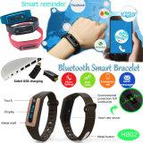 IP67 impermeabile astuto mette in mostra il braccialetto con il video di frequenza cardiaca