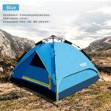 Persona 2017 nuova 4 tenda esterna della tenda di campeggio di 2 strati con con vetroresina Palo