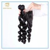 Hochwertige natürliche Farben-loses Wellen-Malaysia-Jungfrau-Haar mit Fabrik-Preis Wfmlw-001