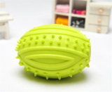 Venda quente! Pet Dog Voice Sound Ball Toy Alimentação Food Ball, Squeaky Ball Dog Toys