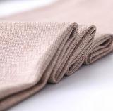 Tela de Upholstery de linho da mistura poli do poliéster do fabricante