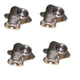 moulage de précision en acier inoxydable pivotant connecteur d'ancrage de moulage à modèle perdu