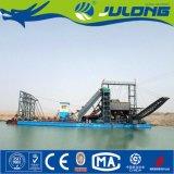 펌프를 가진 Julong 물통 사슬 모래 광업 준설기 배