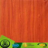 Papel de madera de la decoración del grano para MDF, HPL, suelo, muebles