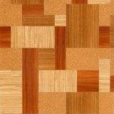 Le plance di lusso della pavimentazione del vinile di legno asciugano la pavimentazione posteriore