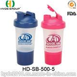 [500مل] صنع وفقا لطلب الزّبون بروتين ذكيّة رجّاجة زجاجة, [ببا] مجّانا [بّ] بلاستيكيّة رجّاجة زجاجة ([هد-سب-500-5])