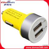 携帯電話の小道具2 USB二重アダプターによって曇らされる車の充電器