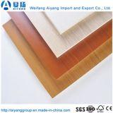 E0 muebles de melamina de cola de grado el papel de madera contrachapada frente