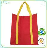 Sac à provisions non tissé estampé par logo, sacs d'emballage non tissés, sac promotionnel non tissé