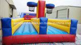 2つの車線の膨脹可能なバンジーのジャンプ/バスケットボールと動作する膨脹可能なバンジー