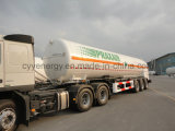 ASME GB를 가진 화학제품 LNG Lox 린 Fuel Tanker Semi Trailer