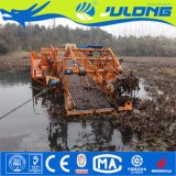 Colheitadeira de infestantes aquáticas&a coleta de lixo Boat&Água Navio Cortador de plantas daninhas para venda