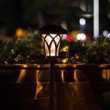 preço de fábrica impermeável ao ar livre Lâmpada Paisagem movidos a energia solar para o pátio com jardim no pátio