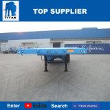 Titan-Fahrzeug - 40FT Plattform-Behälter-Sattelschlepper