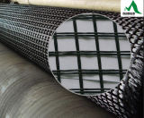 PVC 도로 증강을%s 입히는 폴리에스테 직물 Geogrid