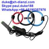Bobine jaune rouge de Rogowsky de faisceau de câble de bobine de Rogowski de vert bleu