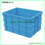 Volumen de almacenamiento de gran volumen de plástico reciclado de Tote para logística