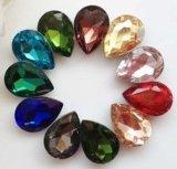 Teardrop-fantastische Kristallsteine für Schmucksachen