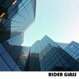 2-19mmセリウム及びSGSの平たい箱によって曲げられる曲げられた構築のガラス構築ガラス