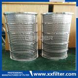 Filtre en forme de bougie pour le liquide et le carburant- de filtrage de gaz