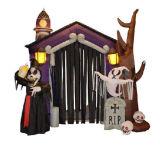 De Opblaasbare Boog van Halloween voor de Partij van Halloween van de Viering