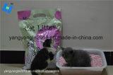 Qualitätstofu-Katze-Sänfte - Pfirsich-Geruch, Büschel, Flushable, Geruch-Steuerung
