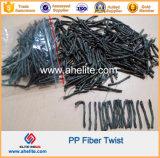PP Twist Fiber Synhtetic Macro Fibras Twisted Bundle Form