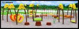 Игровая площадка на открытом воздухе физических упражнений комбинации Enterntament для детей Mode2
