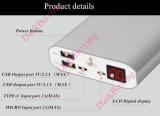 Il nuovo arrivo RoHS portatile 26500mAh si raddoppia la Banca mobile di potere del caricatore delle porte del USB