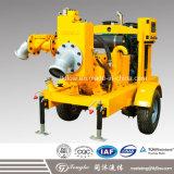 Pomp van het Water van de Instructie van de dieselmotor de Zelf met Beweegbaar Karretje