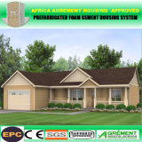 Hogar modular del chalet de la casa prefabricada del panel prefabricado comprable del cemento EPS Sadwich