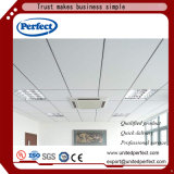 Panneau suspendu au plafond de plafond de fibre minérale tégulaire