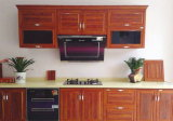 Perfis de cozinha de alumínio de grãos de madeira com preço de fábrica