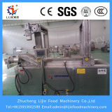 Oignon continu pertinent automatique industriel d'acier inoxydable de la Chine faisant frire la machine