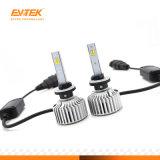 T5 LEDのヘッドライトの三カラーCsp LEDはH11 H7 9005を9006台の自動車LEDのヘッドライトの球根ヘッドランプ欠く