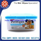 Pet Cleaning Wet Wipes Cat Hair Fall Wipes