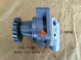 Bomba de petróleo das peças sobresselentes de KOMATSU (6261-51-9101)