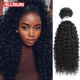 do cabelo grosso da natureza de Hairl do Indian 100 de 7A Remy Toupee profundo das mulheres da onda