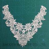 Indumento superiore del collare del Crochet del merletto ricamato cotone della tessile della guipure