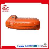 Tipo totalmente incluido aprovado barco salva-vidas do SOLAS da fibra de vidro para a venda