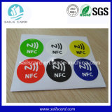 Collant rond de vente chaud de 25mm NFC Ntag213